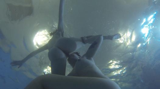 Lesbian underwater orgy | Czech Lesbians 5 part 5