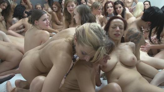 The biggest lesbian group fuck ever | Czech Lesbians 5 part 8