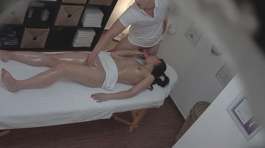 Brunette gets the massage of her dreams 2