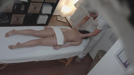 Sexy brunette fucks the masseuse   Czech Massage 15