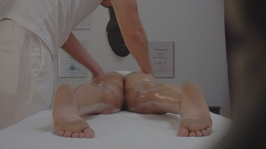 Sexy brunette fucks the masseuse | Czech Massage 15