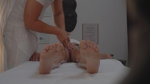 Goth on a massage | Czech Massage 39