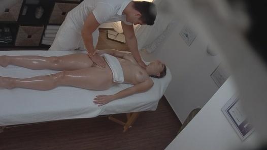 Cute blonde gets a massage | Czech Massage 53