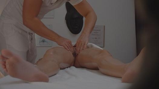 Brunette gets a happy ending massage 3 | Czech Massage 80