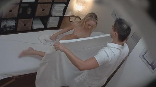 Blonde came for a massage | Czech Massage 83