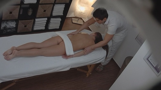 Brunette fucks the masseuse 5 | Czech Massage 98