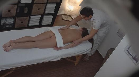 Brunette fucks the masseuse 5 | Czech Massage 98