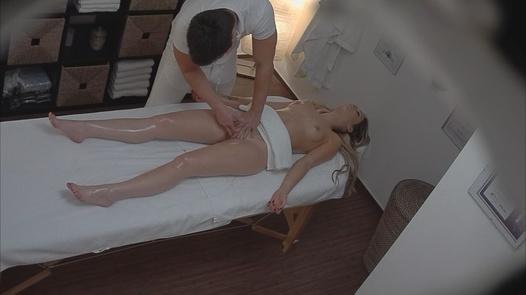 Blonde gets fucked during the massage 2 | Czech Massage 131