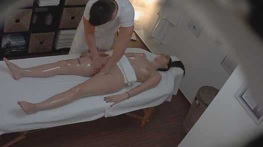 Brunette fucks the masseuse 9 | Czech Massage 155