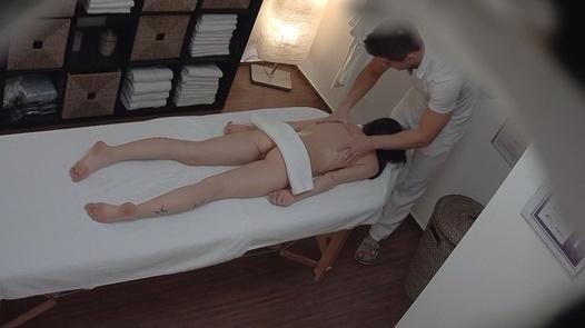 Slim model fucks the masseuse   Czech Massage 158