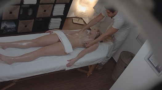 Model came for a massage 2