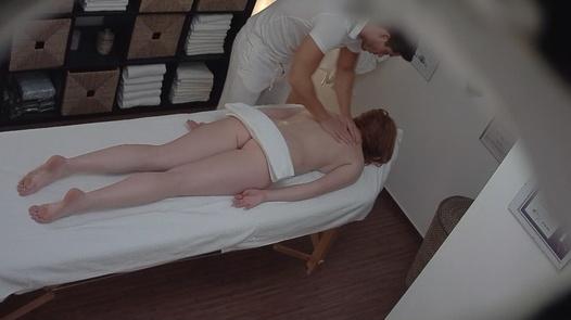Redhead fucks the masseuse 3 | Czech Massage 172