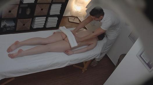 Brunette loves the massage 4 | Czech Massage 173