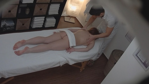 Brunette came for a massage 6 | Czech Massage 175
