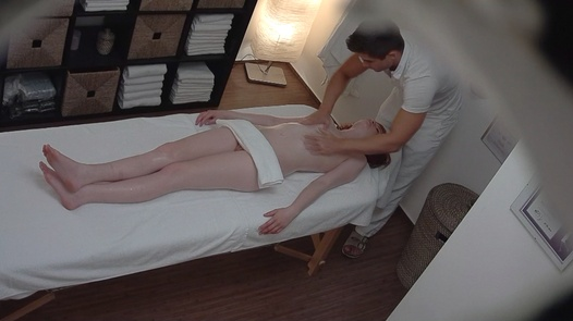 Young redhead fucks the masseuse 2 | Czech Massage 180
