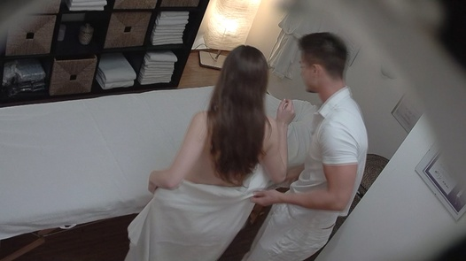 Brunette came for a massage 7 | Czech Massage 187