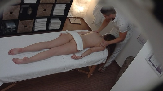Model enjoys the anal massage | Czech Massage 196