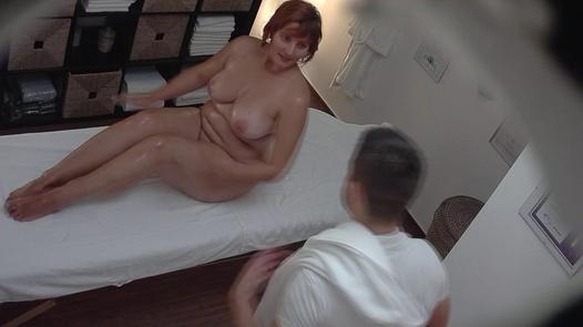 Husky busty on an erotic massage | Czech Massage 205