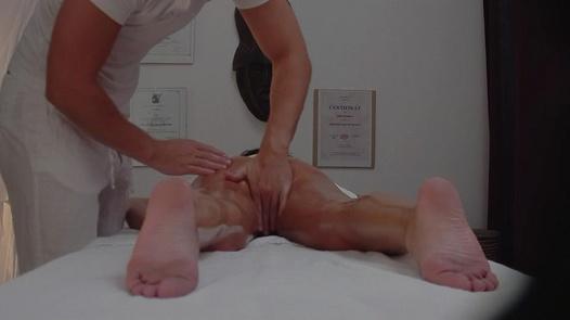 Brunette fucks the masseuse 10 | Czech Massage 238