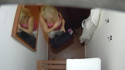 Blonde gets her pussy massaged 3 | Czech Massage 243