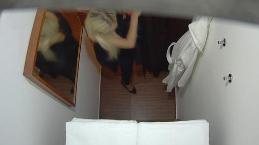 Blonde gets a happy ending massage 5   Czech Massage 246