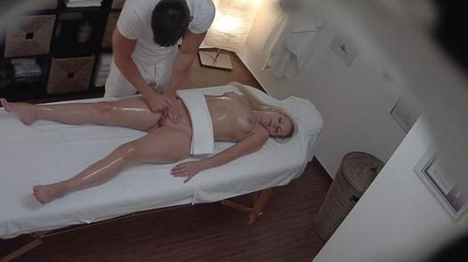 Blonde gets a happy ending massage 5 | Czech Massage 246