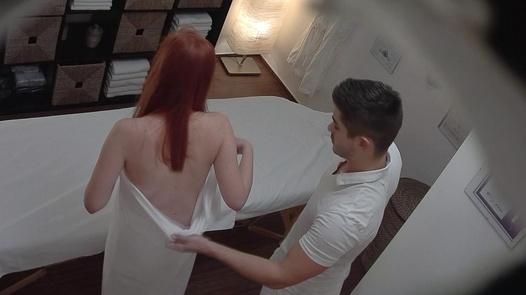 Redhead gets a happy ending massage 3 | Czech Massage 271