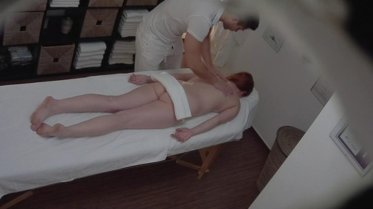 Redhead gets a happy ending massage 3 | Czech Massage 271