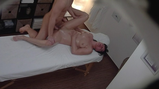 MILF fucks the masseuse 2