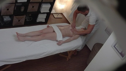 Blonde came for an erotic massage 3 | Czech Massage 287