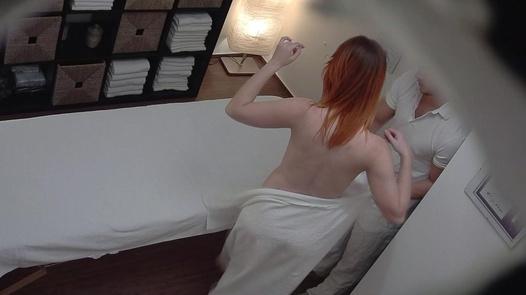 Redhead gets the massage of her dreams | Czech Massage 289