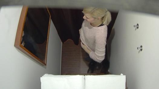 Blonde blows the masseuse 3 | Czech Massage 292