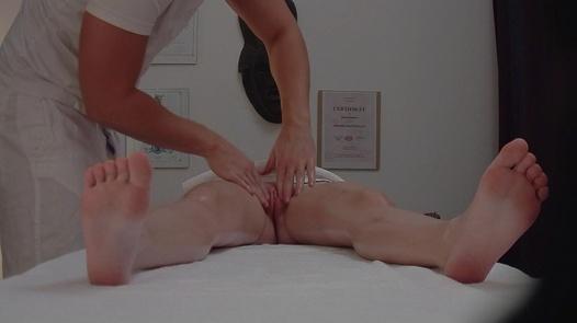 Young redhead fucks the masseuse 3   Czech Massage 307