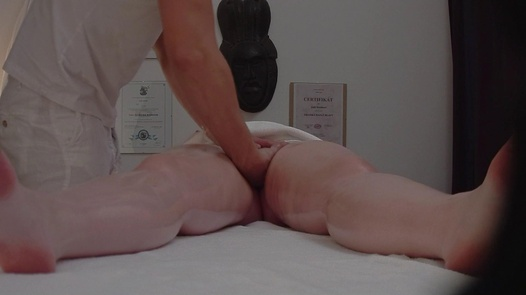 Busty girl fucks the masseuse | Czech Massage 310