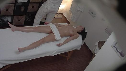 Brunette on a massage 2 | Czech Massage 311