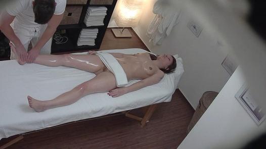 Brunette enjoys sex on massage 7 | Czech Massage 312