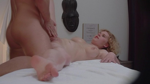 Busty blonde gets the massage of her dreams | Czech Massage 316