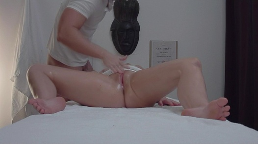Busty beauty fucks the masseuse | Czech Massage 319
