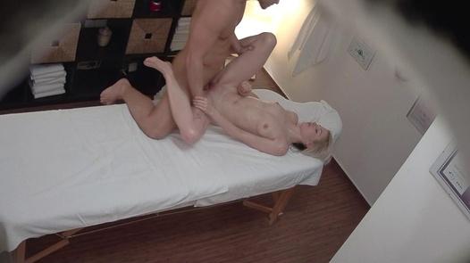 Blonde model fucks the masseuse 3 | Czech Massage 321
