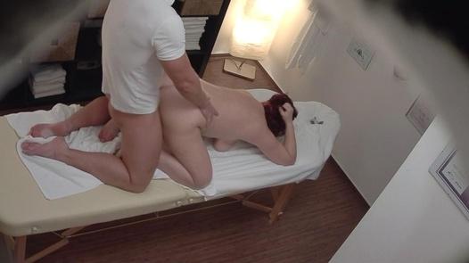 Mature busty fucks the masseuse 2   Czech Massage 323