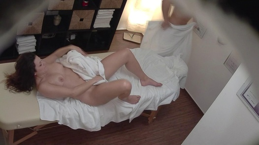 Brunette screws the masseuse 6 | Czech Massage 326