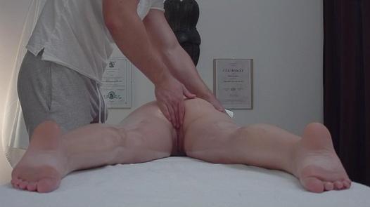 Teen fingered during a massage | Czech Massage 341