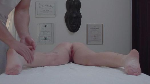 Wild redhead gets an anal massage | Czech Massage 346