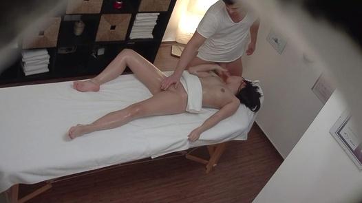Brunette screws the masseuse 8 | Czech Massage 347