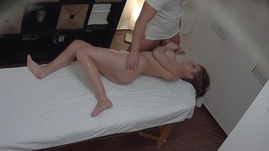 Amazing busty blows the masseuse | Czech Massage 349