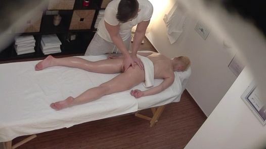Blonde gets the massage of her dreams 4 | Czech Massage 350