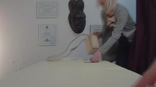 Blonde gets the massage of her dreams 5   Czech Massage 351