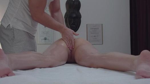 Brunette screws the masseuse 9 | Czech Massage 353