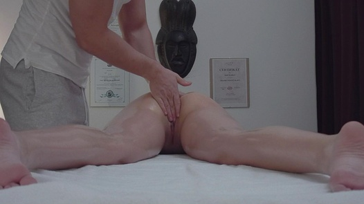 Brunette screws the masseuse 9 | Czech Massage 353