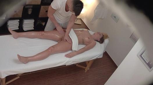 Blonde came for a massage 4 | Czech Massage 356